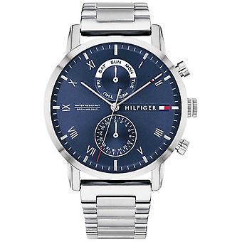 Tommy Hilfiger | Men's Stainless Steel Bracelet | Blue Dial | 1710401 Watch