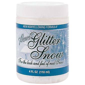 Aleene's Glitter Snow 4 Ounces Sp408