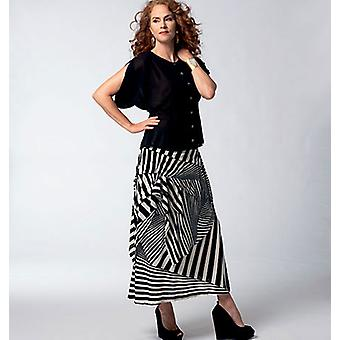 Vogue Misses' Blouse And Skirt  All Sizes In One Envelope Pattern V1333  Osz