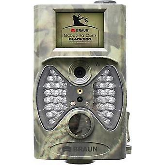 Wildlife camera Braun Germany Scouting Cam 12 MPix Black LEDs, Remote control Camouflage
