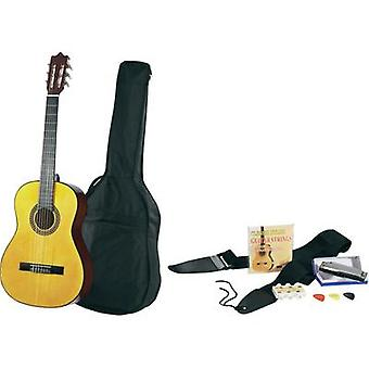 Classical guitar kit MSA Musikinstrumente 4/4 Ecru incl. gig bag