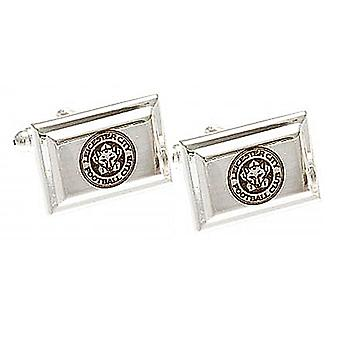 Leicester City FC Crest Cufflinks in presentation box (spg)