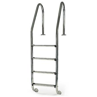 Gre Standard inground pool ladder 4 steps - Inox