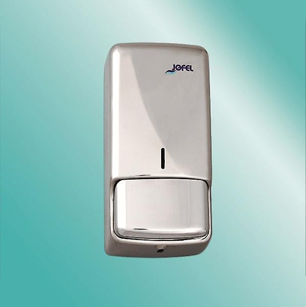 Jofel Brushed Stainless Steel Bulk Fill Soap Dispenser 850ml