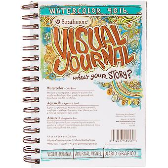 Strathmore Visual Journal Watercolor 5.5