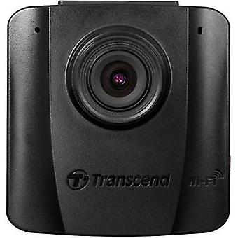 Dashcam Transcend DrivePro50 Horizontal viewing angle=130 ° 12 V, 24 V Wi-Fi, Microphone