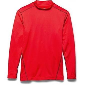Under Armour Herren Kompressions-Mock-Shirt UA ColdGear® Armour® color: rocket Red