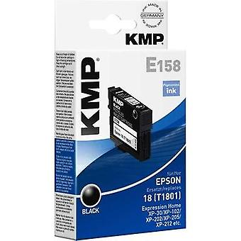 KMP Ink replaced Epson T1801, 18 Compatible Black E158 1622,4801