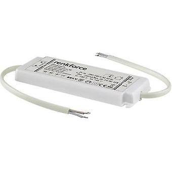 renkforceLED driver 1217847 White