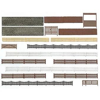 Busch 6017 H0 Assorted fences Assembly kit
