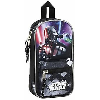 Safta Plumier Mochila Con Portatodo Lleno Star Wars (Toys , School Zone , Pencil Case)