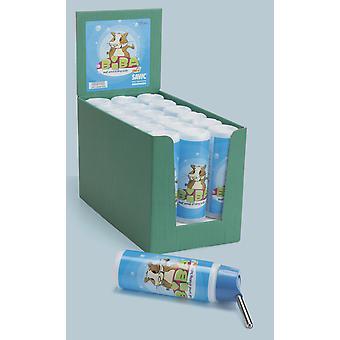 Biba fles kleine dierlijke waterfles 250ml (Pack van 18)