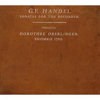 Haendel / Oberlinger / Ensemble 1700 - sonater for optager [SACD] USA import