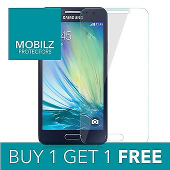 Genuine Tempered Glass Screen Protector For Samsung Galaxy A3 2016 x 2