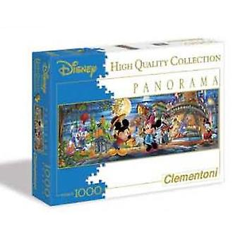 Clementoni Puzzle 1000 Disney Mickey P.panoramico- (Toys , Boardgames , Puzzles)