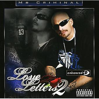 Mr. Criminal - Mr. Criminal: Vol. 2-Love Letters [CD] USA import