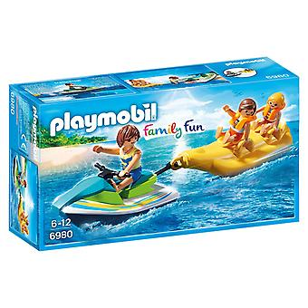 PLAYMOBIL 6980 Jet ski with banana boat