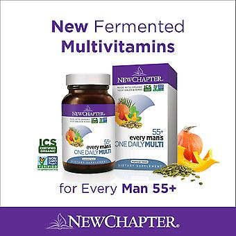 New Chapter Every Man's One Daily 55+ Tablets 72 Ct