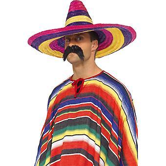 Big sombrero, multicolor