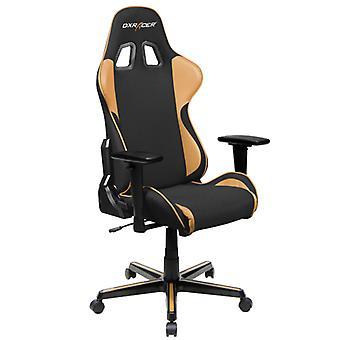 DX Racer DXRacer OH/FH11/NC High-Back Ergonomic Office Desk Chair Strong Mesh+PU(Black/Coffee)