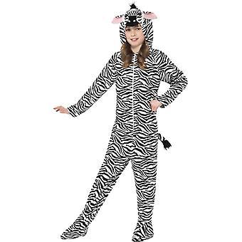 Zebra kids costume