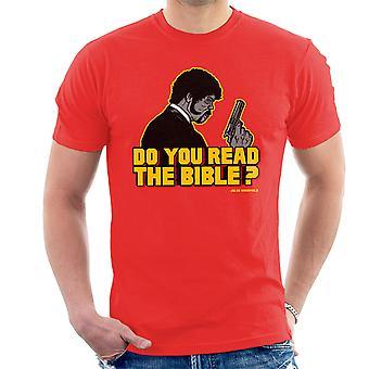 Shepherd Jules Winnfield Pulp Fiction mænds T-Shirt