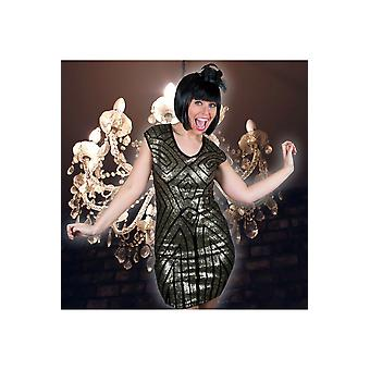Women costumes  Sequin dress Cleo gold or silver