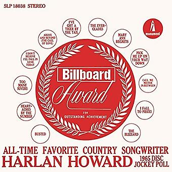 Harlan Howard - Favorite Country Songwriter [CD] USA import