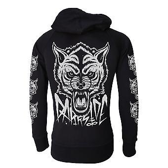 Occult Wolf   Mens Lightweight Hoodie