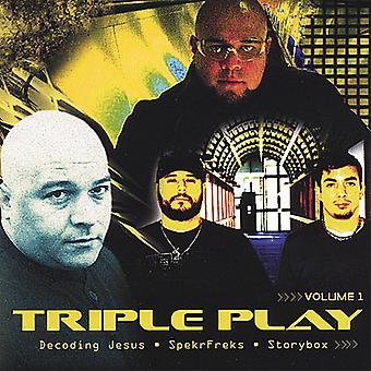 Triple Play - Vol. 1-Triple Play [DVD] USA import