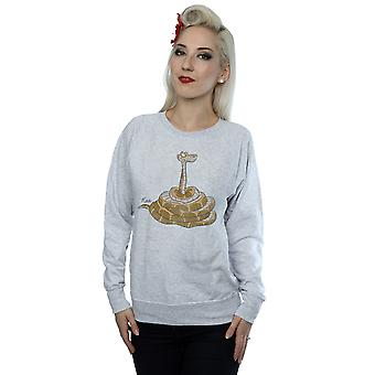 Disney Women's The Jungle Book Classic Kaa Sweatshirt