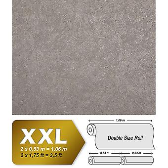 Uni wallpaper EDEM 9009 24 shaped non-woven wallpaper with abstract pattern glossy silver gray 10.65 m2