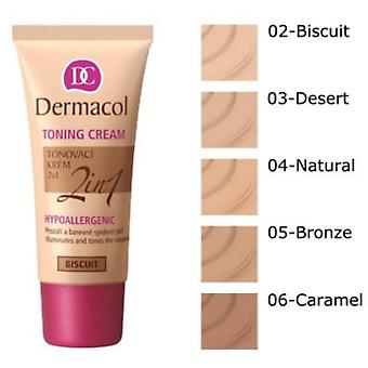 Dermacol  Toning Cream 2In1 (Make-up , Face , Bases)