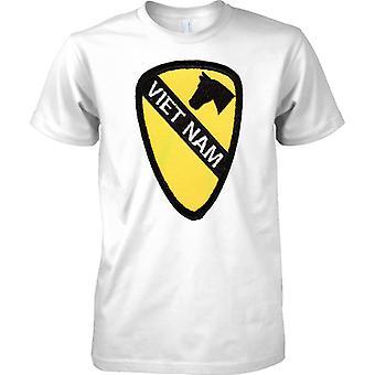 Vietnam Patch Effect - US Army 1st Cavalry - Kids T Shirt