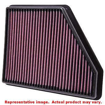 K&N Drop-In High-Flow Air Filter 33-2434 Fits:CHEVROLET 2010 - 2014 CAMARO V6 3