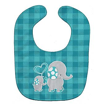 Carolines Treasures  BB6834BIB Mommy and Baby Elephant Baby Bib