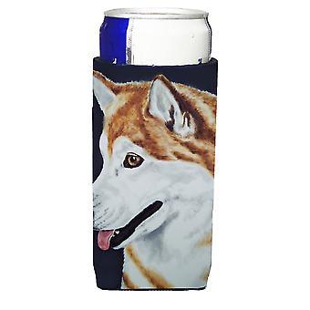 Siberian Husky Ultra Getränke Isolatoren für schlanke Dosen
