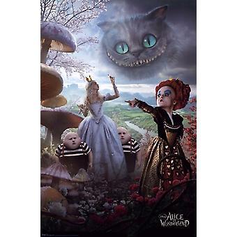 Disney Alice i Eventyrland plakat plakat Print