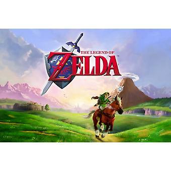 Zelda - Gallop Poster Poster Print