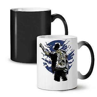 Zombie Stylish Dancer NEW Black Colour Changing Tea Coffee Ceramic Mug 11 oz | Wellcoda