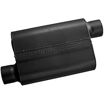Flowmaster 43043 40 Series Muffler - 3.00 Offset IN / 3.00 Offset OUT - Aggressive Sound
