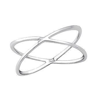 Cross - 925 Sterling Silver Plain Rings