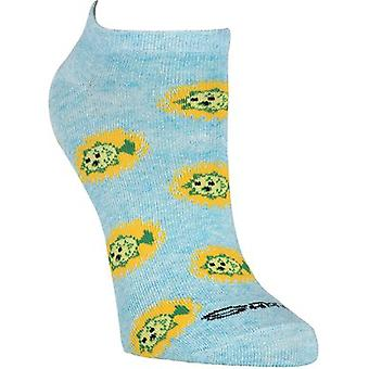 Shag No Show Novelty Socks 6/Pkg-Tiki SGWFC-7C017