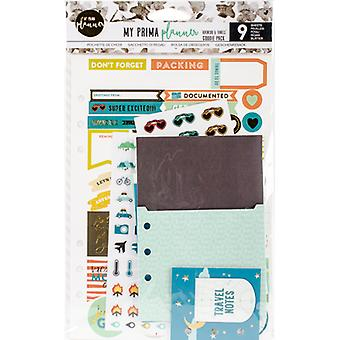 My Prima Planner Goodie Pack Embellishments-Adventure & Travels 592226