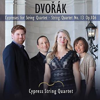 A. Dvorak - Dvor K: cipreses para cuarteto de cuerda; Importación de USA de cuarteto de cuerdas no. 13 [CD]