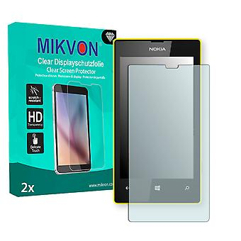 Nokia Lumia 520 Screen Protector - Mikvon Clear (Retail Package with accessories)