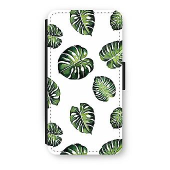 Huawei P8 Lite (2015-2016) Flip Case - Tropical leaves