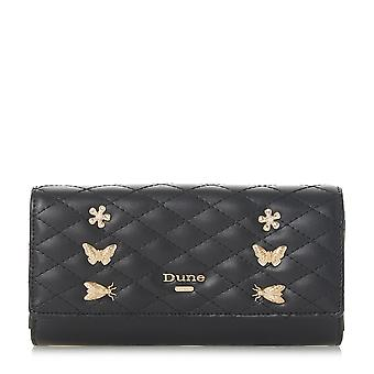 Dune KBUTTERFLY Bug Detail Quilted Purse in Black