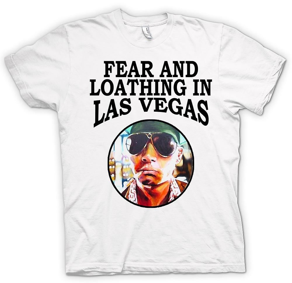 Mens T-shirt - Fear Loathing - Hunter S Thompson Funny - Movie