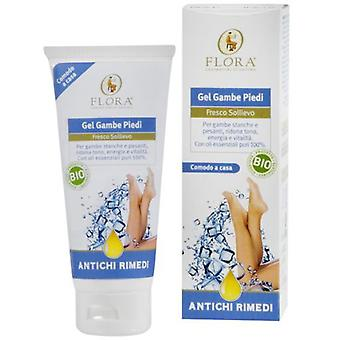 Flora Cold gel for tired legs and feet 100 ml